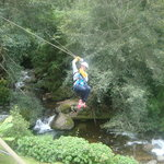 Canopy Tour at Hotel Trogon Lodge
