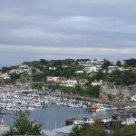 A view of the harbour on the walk from the holiday park to the town.