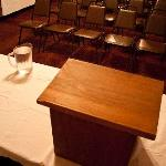  The conference room is available for public meetings, non-profit meetings, sports teams and many