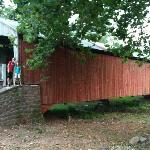"Covered bridge on our ""tour"""