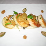 Melt in your mouth scallops