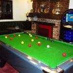 Our pool room (with lots of trophies!)