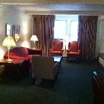 Living room - Suite 701 on the 7th floor
