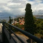  view from veranda of Cavtat &amp; Dubrovnik
