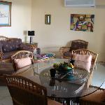 A303 Air Conditioned Living Rm/Dining Area