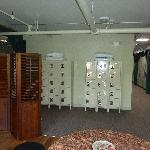 Lockers, and rooms