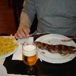  De Mario&#39;s dish...nice meat