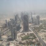 from the top of the Burj Khalifa