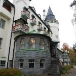 The historical Castle Hotel