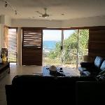  View from Kitchen to the surf/beach/ocean