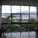  The view from the coridor, with Doi Sutep in the background