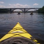 Paddling between Mpls & StP