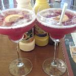 The cosmopolitan cocktails in the hotel restaurant
