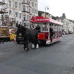  horse tram along douglas promanade