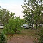  caravan park and pool