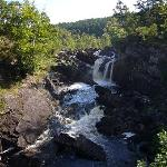 The Rogie Falls - near to the hotel