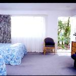 Spacious rooms at Dolphins