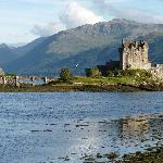 Eilean Donan Castle is nearby