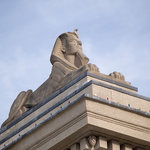 Sphinx on the Legislative Building