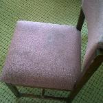 Furniture/Towels were stained