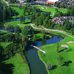 Aerial view of the 575 acre Nottawasaga Resort