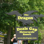  Deal&#39;s Gap Motorcylcle Resort Sign