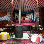 Sopley Lake Yurt Camp
