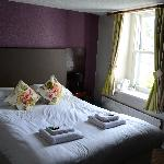 our beautiful King room, newly refurbished