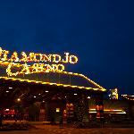  Located steps away from the Diamond Jo Casino!