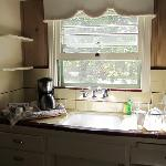 charming cottage kitchen in morning sun