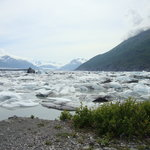 Face of the Knik Glacier