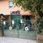 L'entrata del Bed and Breakfast