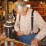  Mr. Miller, one nice guy and talented tinsmith!
