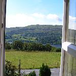 View of Loch Tay from the bedroom
