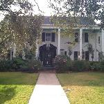 front of main house