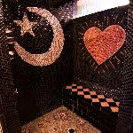 Awesome mosaic shower in guest suite