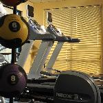 Our fitness center offers everything you need to keep up your normal workout routine.  Each of o