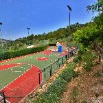 I due campi di basket/volley