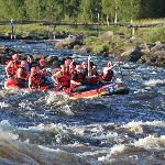 Rafting in Kukkolaforsen