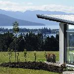 Prospect Lodge overlooking Lake Te Anau