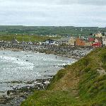 Lahinch from the nearby free public carpark