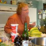  Judy is a wonderful chef, teacher, and hostess.