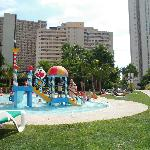 kids pool area