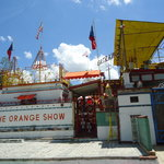 The entrance to the Orange Show