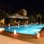  Swimming Pool in Night