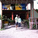 In front of Casa Istiam