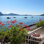  View of Lake Maggiore from the hotel terrace
