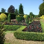 One of the gardens at Holm Lacy