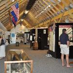 Exhibit hall at the new N.C. Maritime Museum at Southport