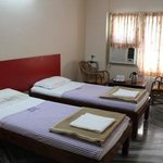 spacious double bed room